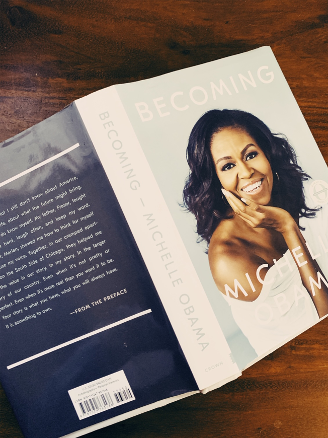 Michelle Obama - Becoming (2018, Crown Publishing group)